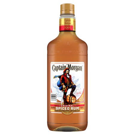Captain Morgan Rum, Spiced, Original - 750 ml