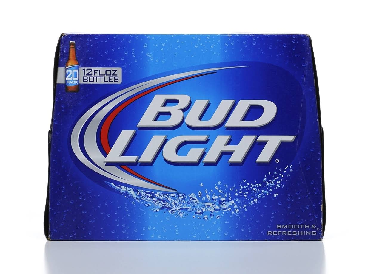 Bud Light Beer - 12 oz, 20 pack