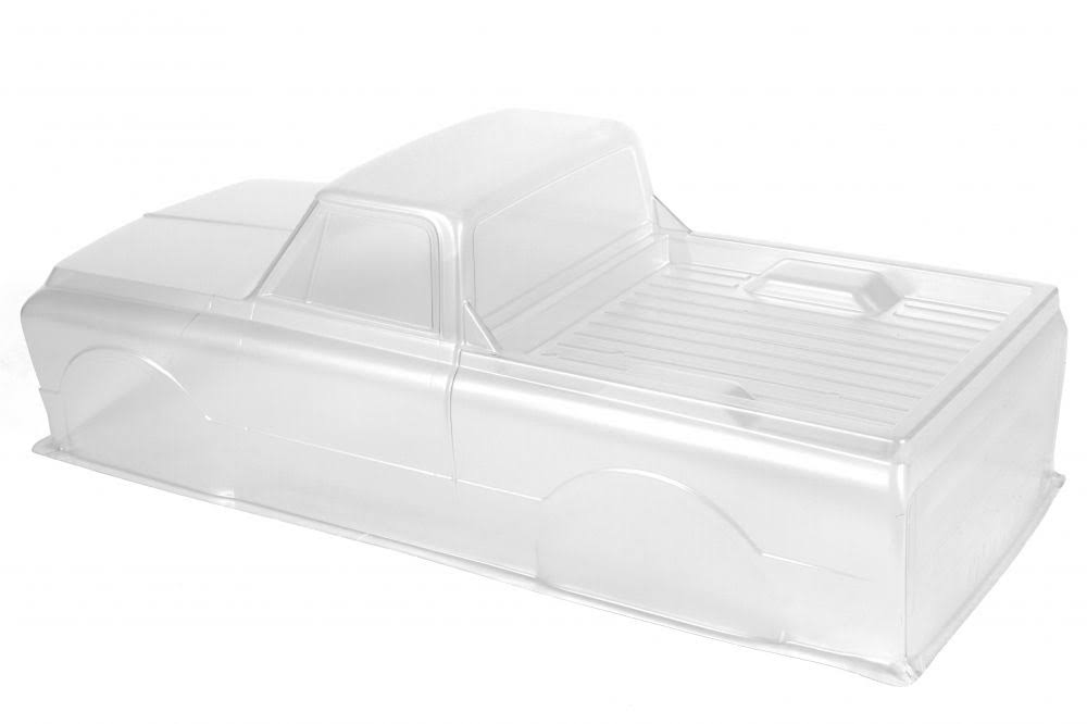 Axial Ax31498 - 67 Chevy C/10 Body .040 Uncut Clear SCX10