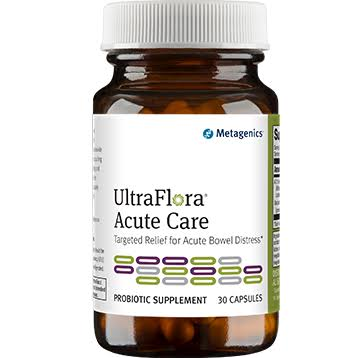Metagenics UltraFlora Acute Care - 30 Capsules