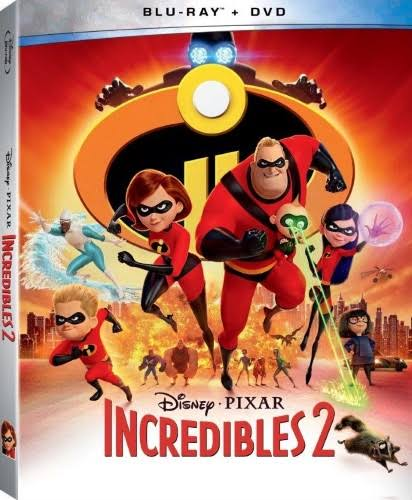 Incredibles 2 (Blu-ray & Dvd) New