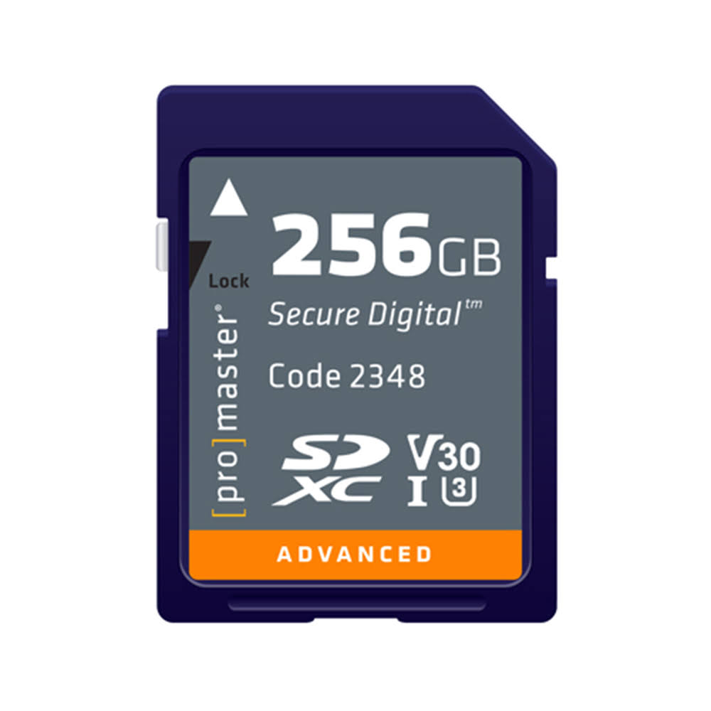 ProMaster 256GB SDXC Advanced Memory Card