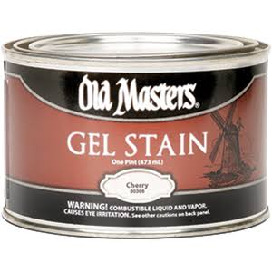 Old Masters Gel Stain - Cherry, 473ml
