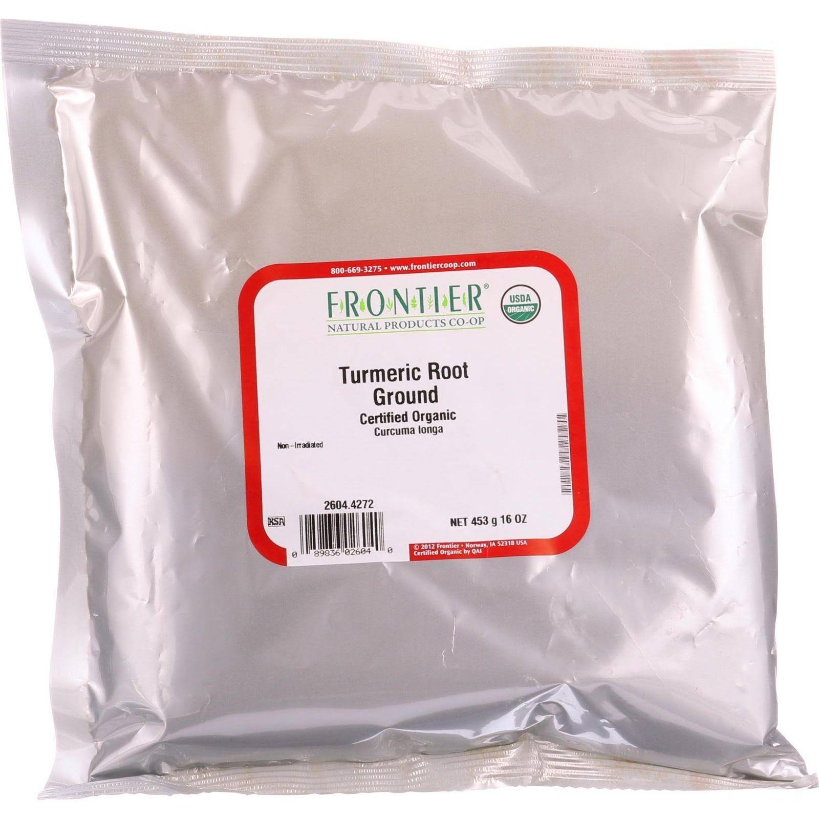 Frontier Organic Turmeric Root Powder