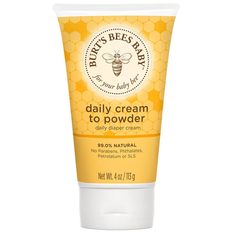 Burt's Bees Baby Bee 2-in-1 Diaper Cream and Baby Powder - 4oz