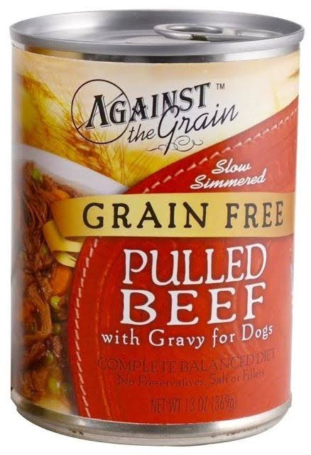 Evangers Against The Grain Hand Pulled Beef Dog Food - 13oz