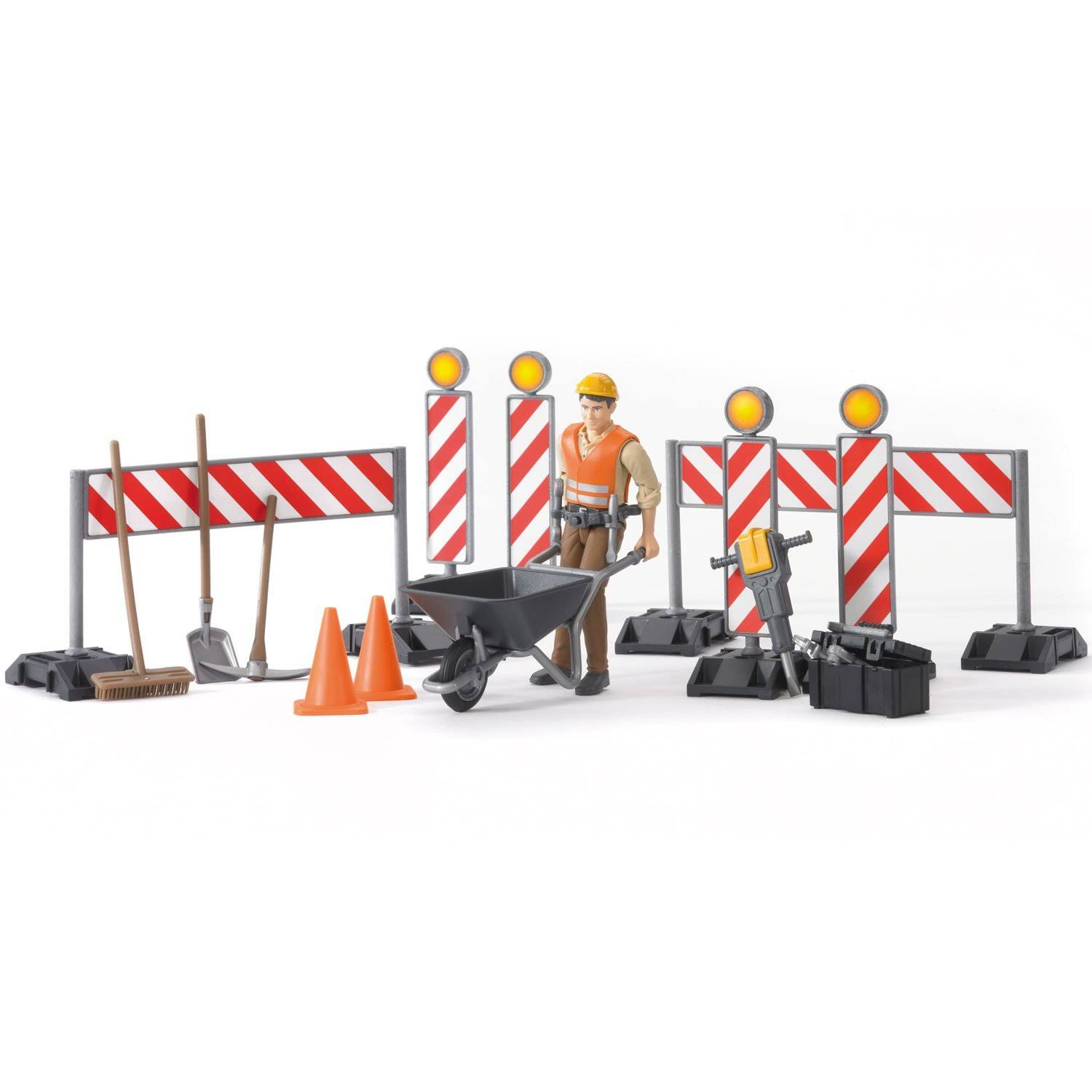 Bruder 62000 Construction Figure Set