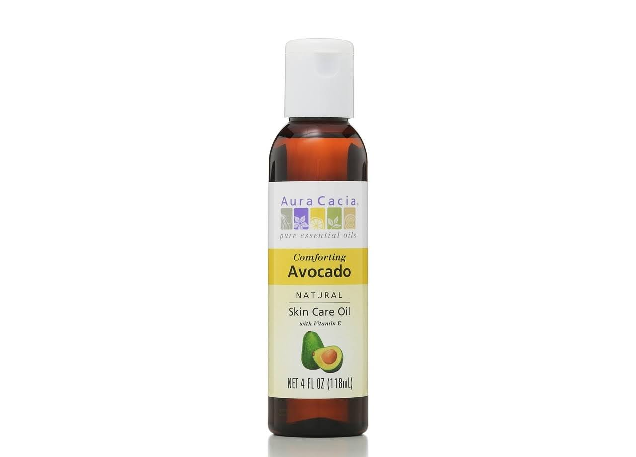 Aura Cacia Avocado Vegetable Massage Oil - 118ml