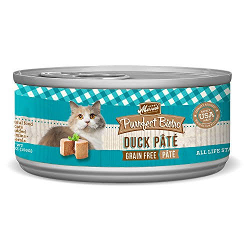 Merrick Purrfect Bistro Grain Free Cat Food - Duck Pate