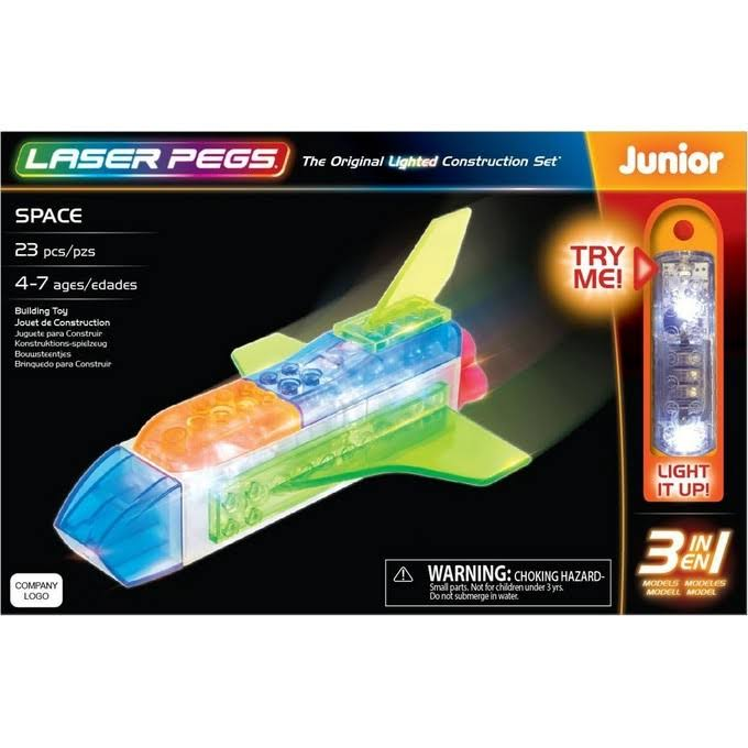 Laser Pegs Space 3-in-1 Building Set