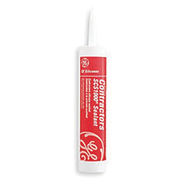GE Contractors Silicone Sealant - 10.1oz