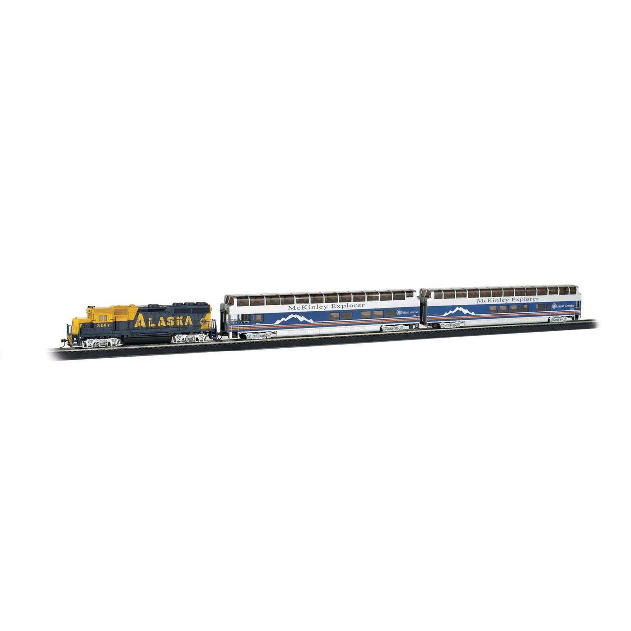 Bachmann Trains Mckinley Explorer Ho Scale Ready-to-run Electric Train Set