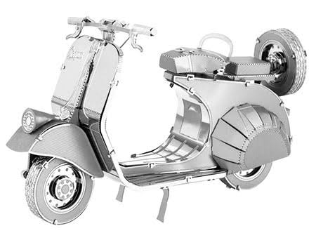 Fascinations Metal Earth 3D Metal Model Kit - Classic Vespa 125
