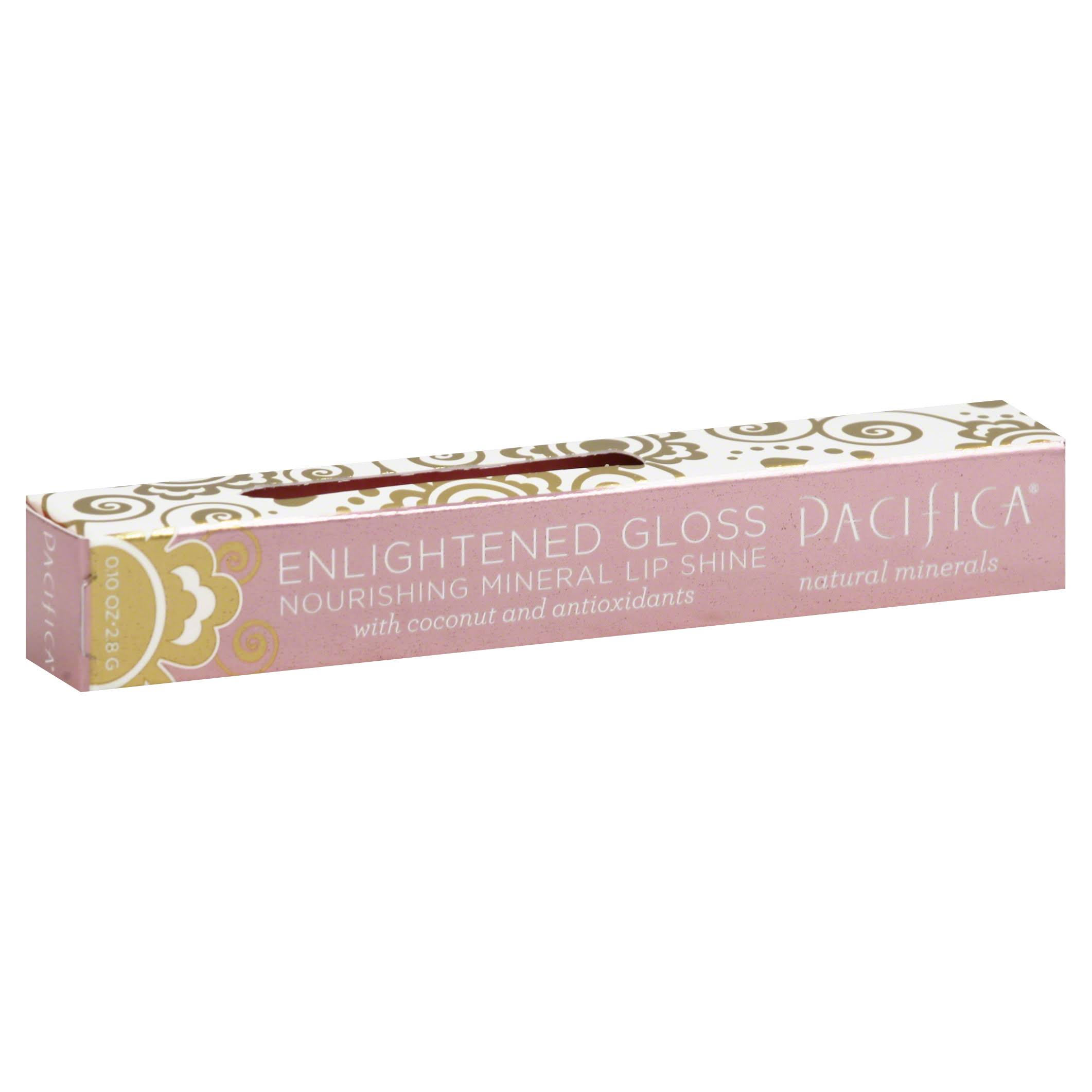 Pacifica Enlightened Gloss Nourishing Mineral Lip Shine - 2.8g, Beach Kiss
