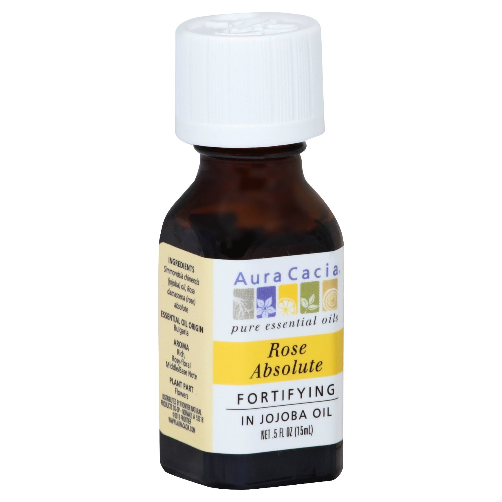 Aura Cacia Pure Aromatherapy 100% Pure Essential Oil - Rose Absolute, .5oz