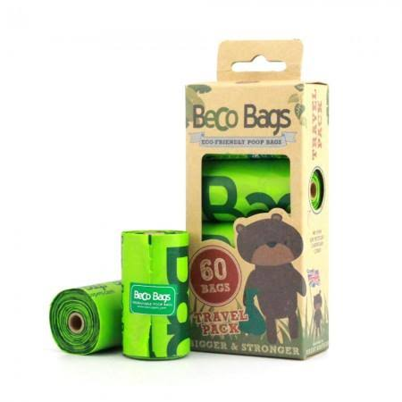 Beco Bags Eco-Friendly Poop Bags Travel Pack - 60 ct