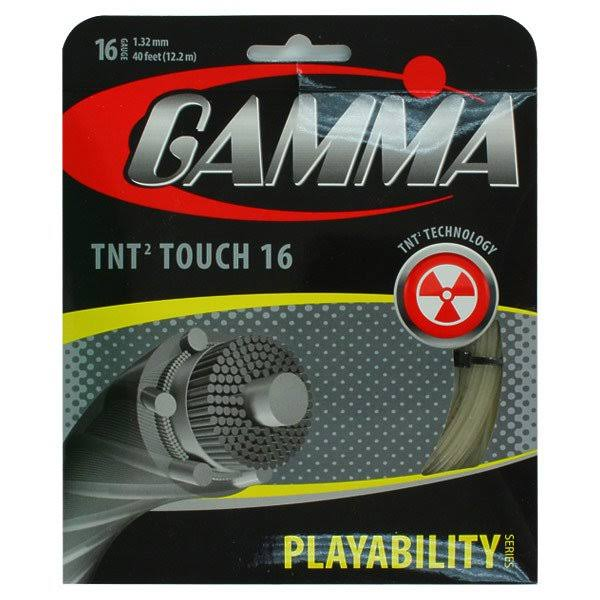 Gamma TNT2 Touch Tennis String - 16ga, 40'