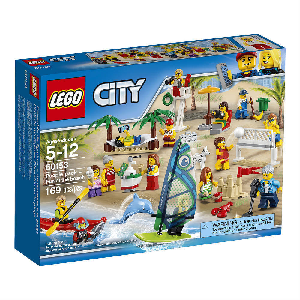 Lego City 60153 Town People Pack Fun at the Beach