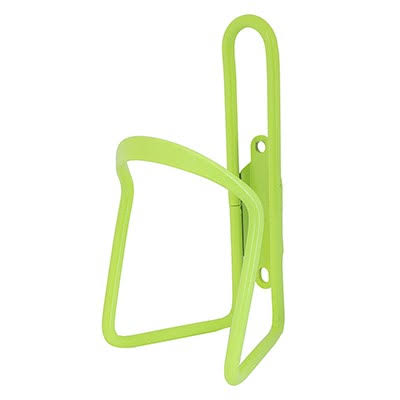 Sunlite Alloy Bicycle Water Bottle Cage - Lime, 6mm