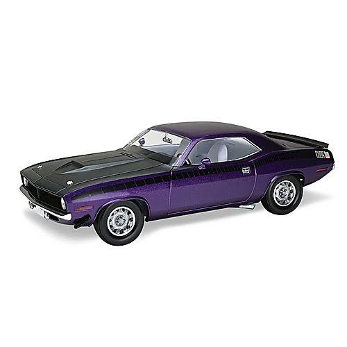 Revell 1970 Plymouth AAR Cuda Monogram Plastic Model Kit - 1/25 Scale