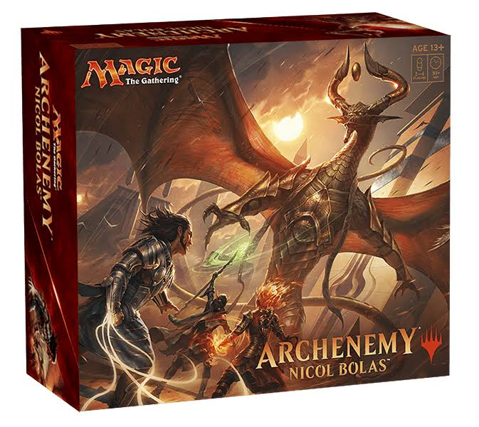 Magic The Gathering Archenemy Nicol Bolas Boxed Set