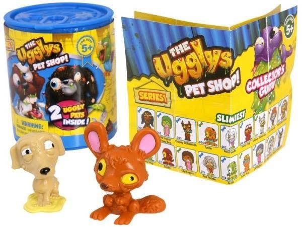 The Uglys Pet Shop Figures - 2 Pack