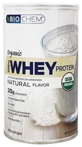 Biochem 100% Whey Protein Supplement - Natural Flavor, 300g