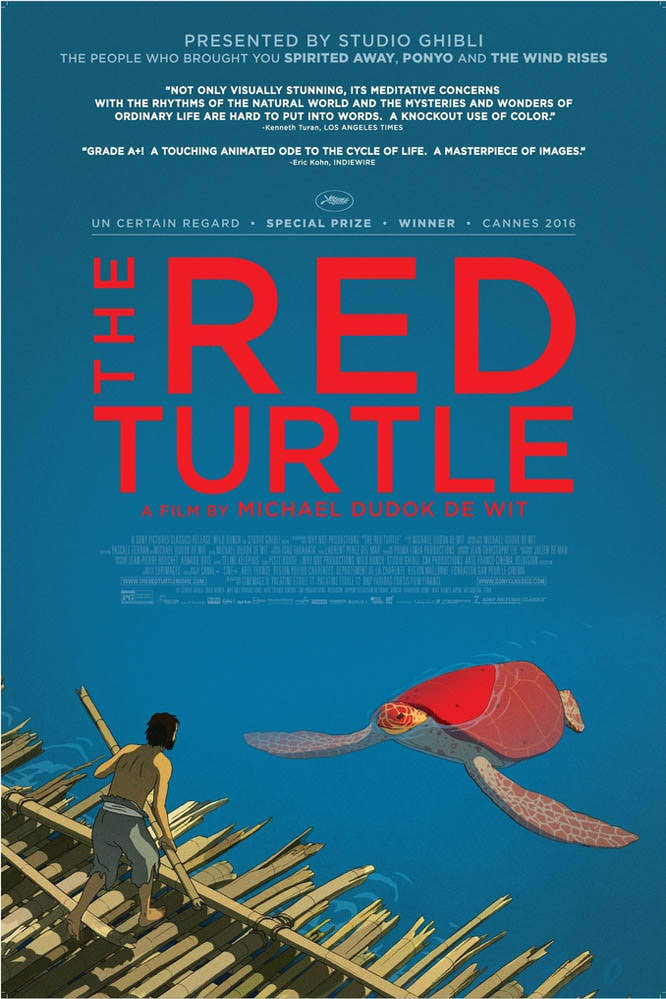 The Red Turtle-La tortue rouge