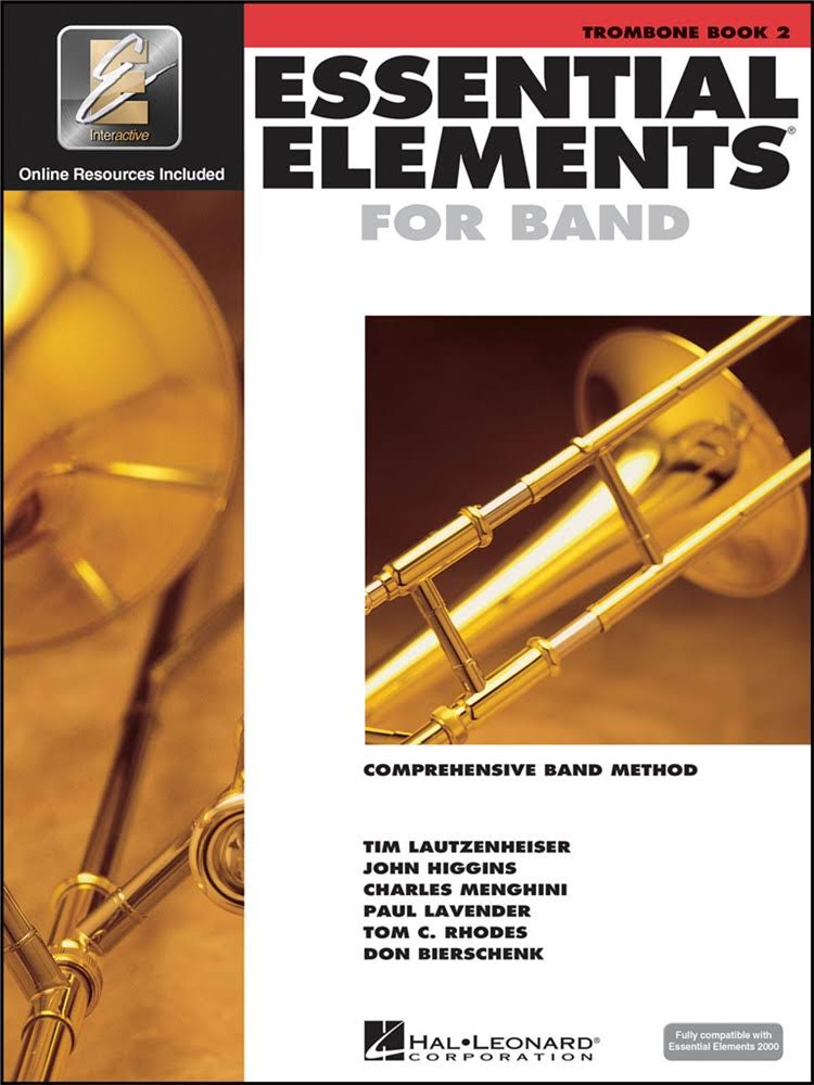 Hal Leonard Essential Elements For Band Music Book - Trombone, Book 2, Alfred Publishing