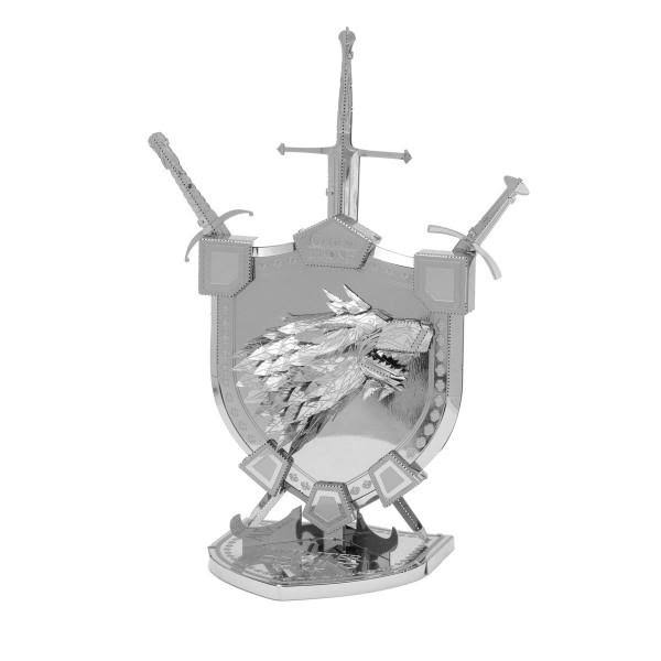 Game of Thrones Metal Earth ICONX House Stark Sigil Model Kit