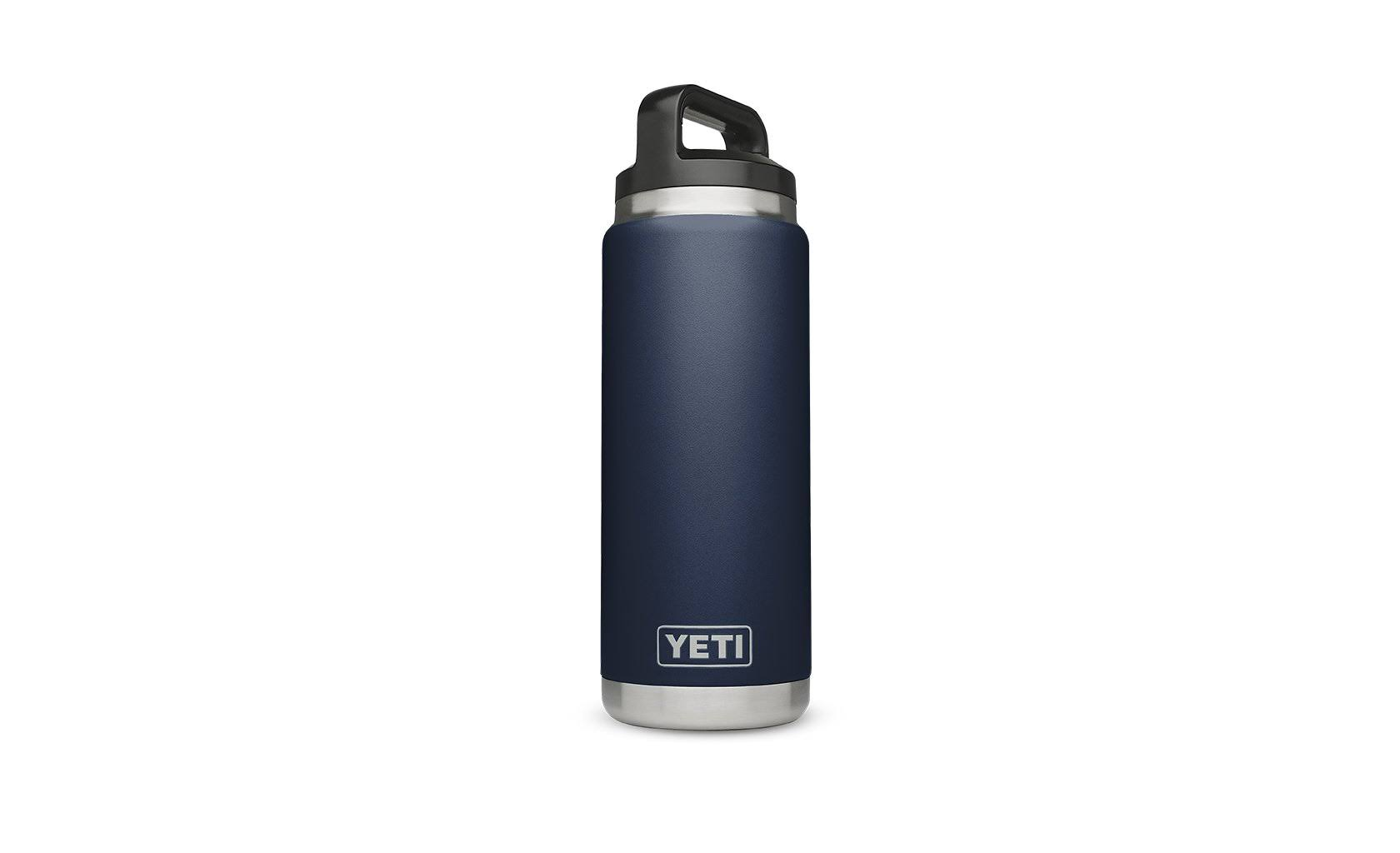 Yeti Rambler Vacuum Water Bottle - Navy, 26oz