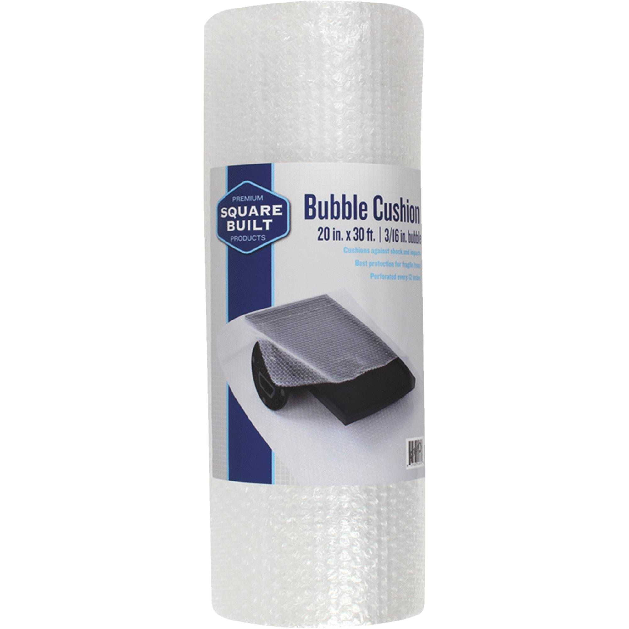 Square Built Cushion Bubble Wrap, SBA3162030B