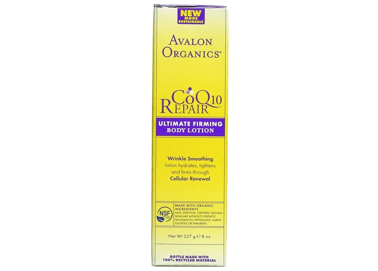 Avalon Organics CoQ10 Ultimate Firming Body Lotion - 227g