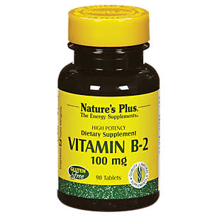 Nature's Plus B-2 Supplement - 100mg, 90 Tablets