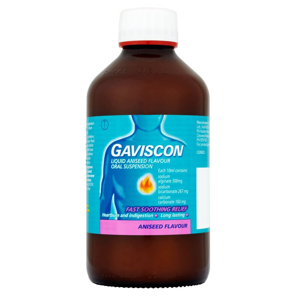 Gaviscon Liquid Oral Suspension - Aniseed, 600ml