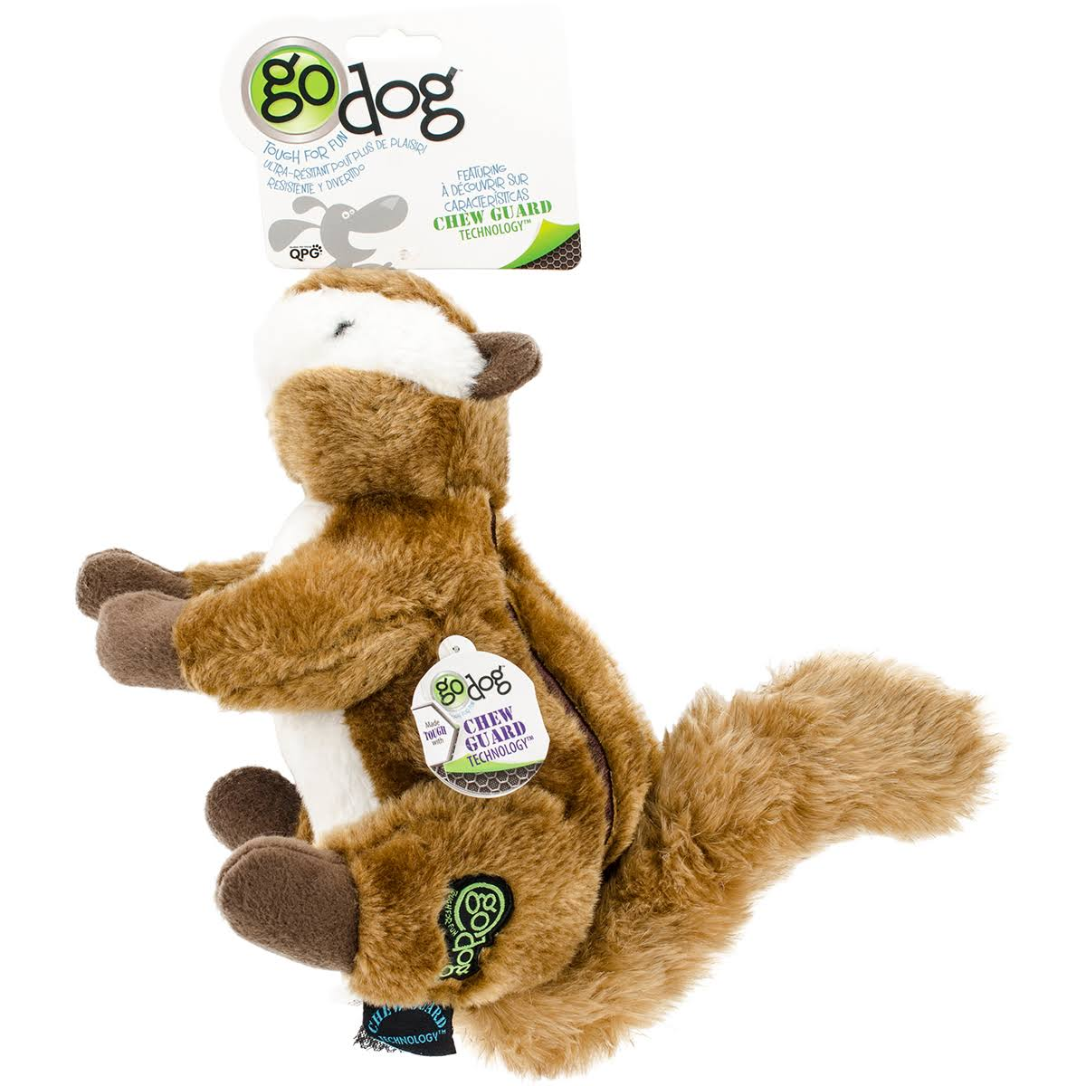 GoDog Wildlife Chipmunk Toy - Large