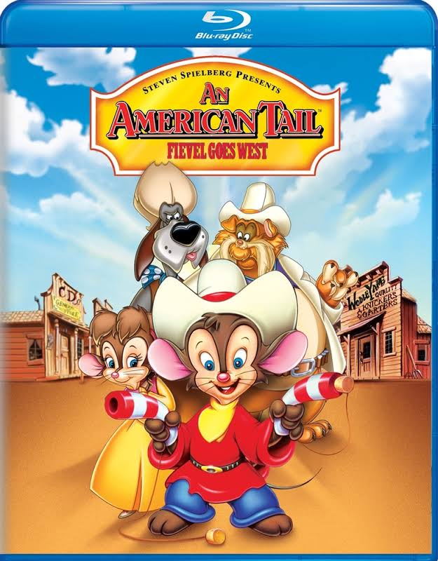 An American Tail: Fievel Goes West - BLU-RAY