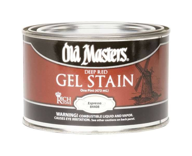 Old Masters 84408 Pint Espresso Gel Stain