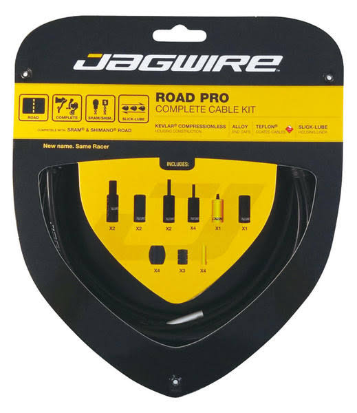 Jagwire Road Pro Complete Shift and Brake Cable Kit - Silver