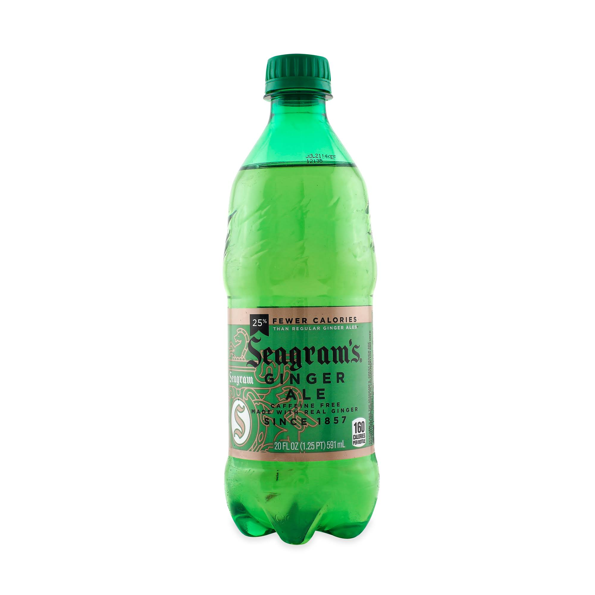 Seagram's Ginger Ale - 20 fl oz