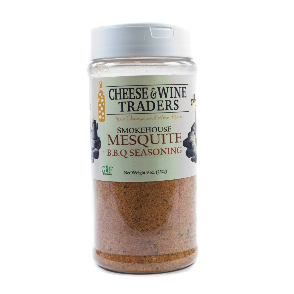 Cheese and Wine Traders Smokehouse Mesquite B.b.q. Seasoning, 9 oz