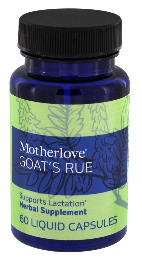 Motherlove Goat's Rue - 120 Herbal Liquid Capsules