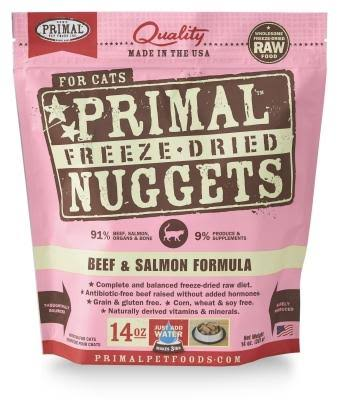 Primal Freeze Dried Formula For Cats - Beef and Salmon