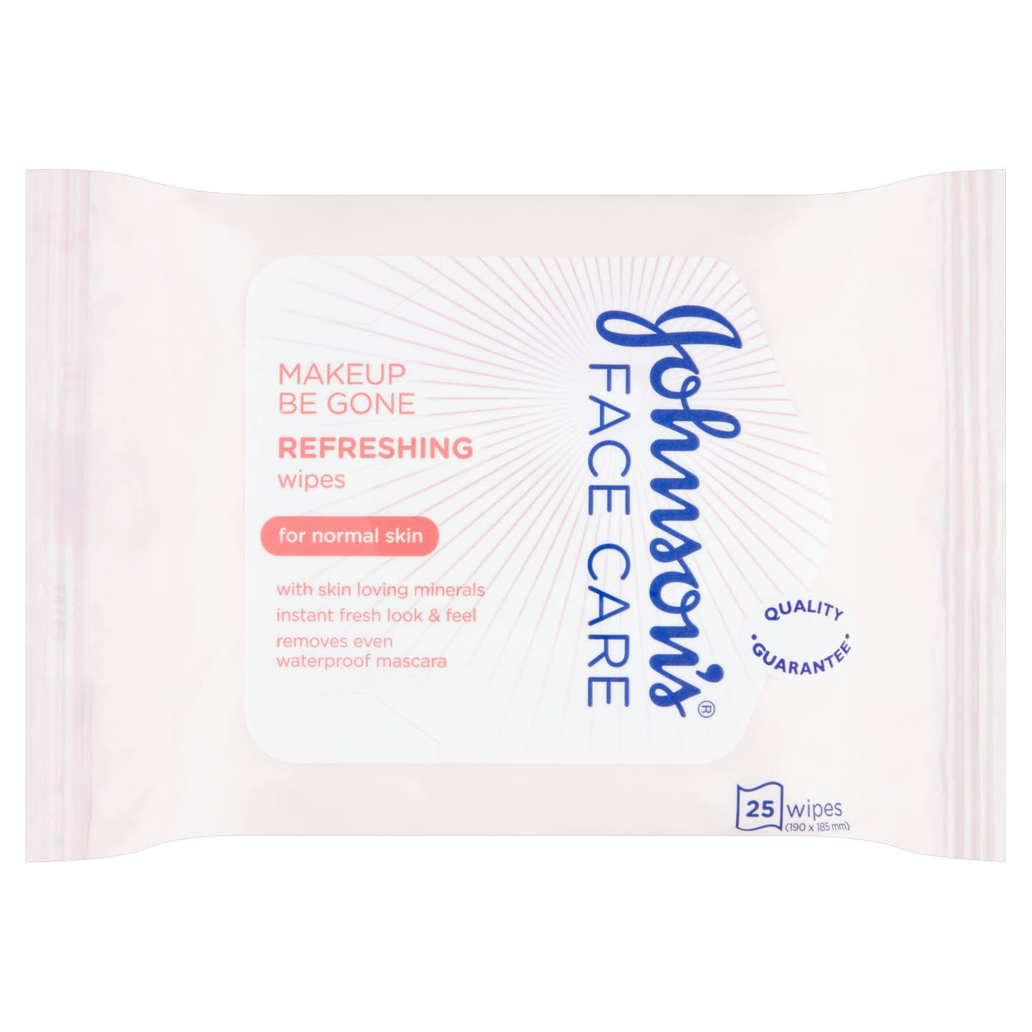 Johnsons Make Up Be Gone Cleansing Wipes - 25pcs