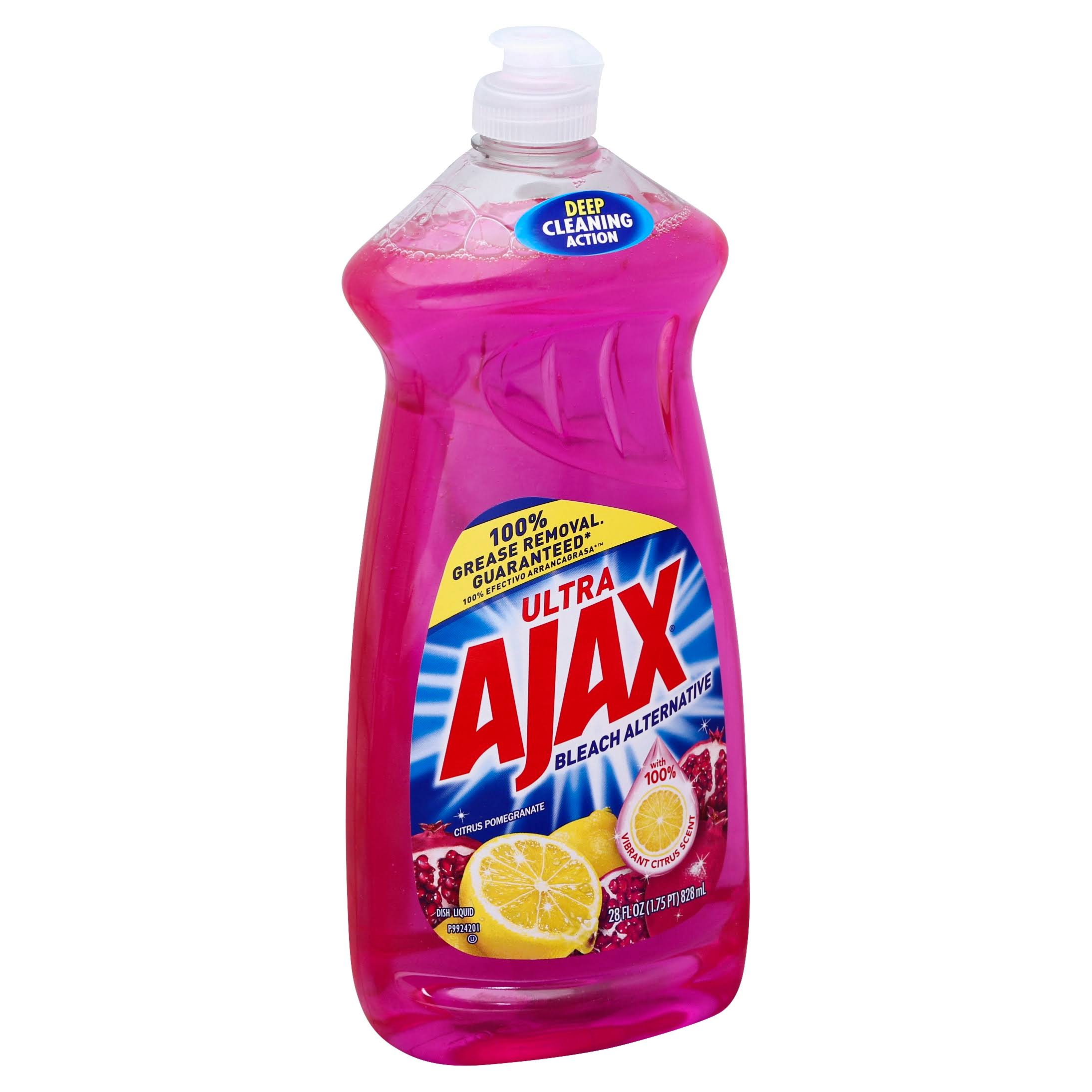 Ajax Ultra Dish Liquid, Citrus Pomegranate - 28 fl oz