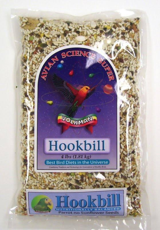 Volkman Seed Avian Science Super Hookbill 4 lb
