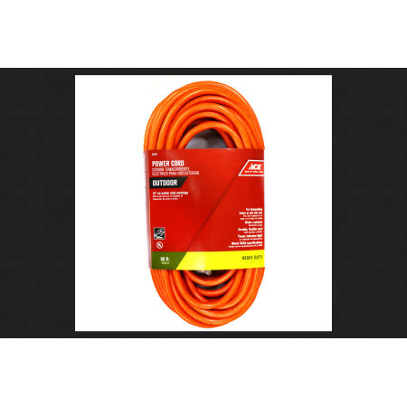 Ace SJTW Outdoor Extension Cord - 12/3