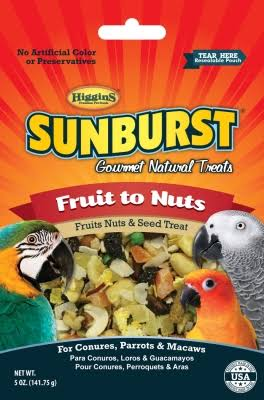 Higgins Sunburst Fruit to Nuts - 5 oz.