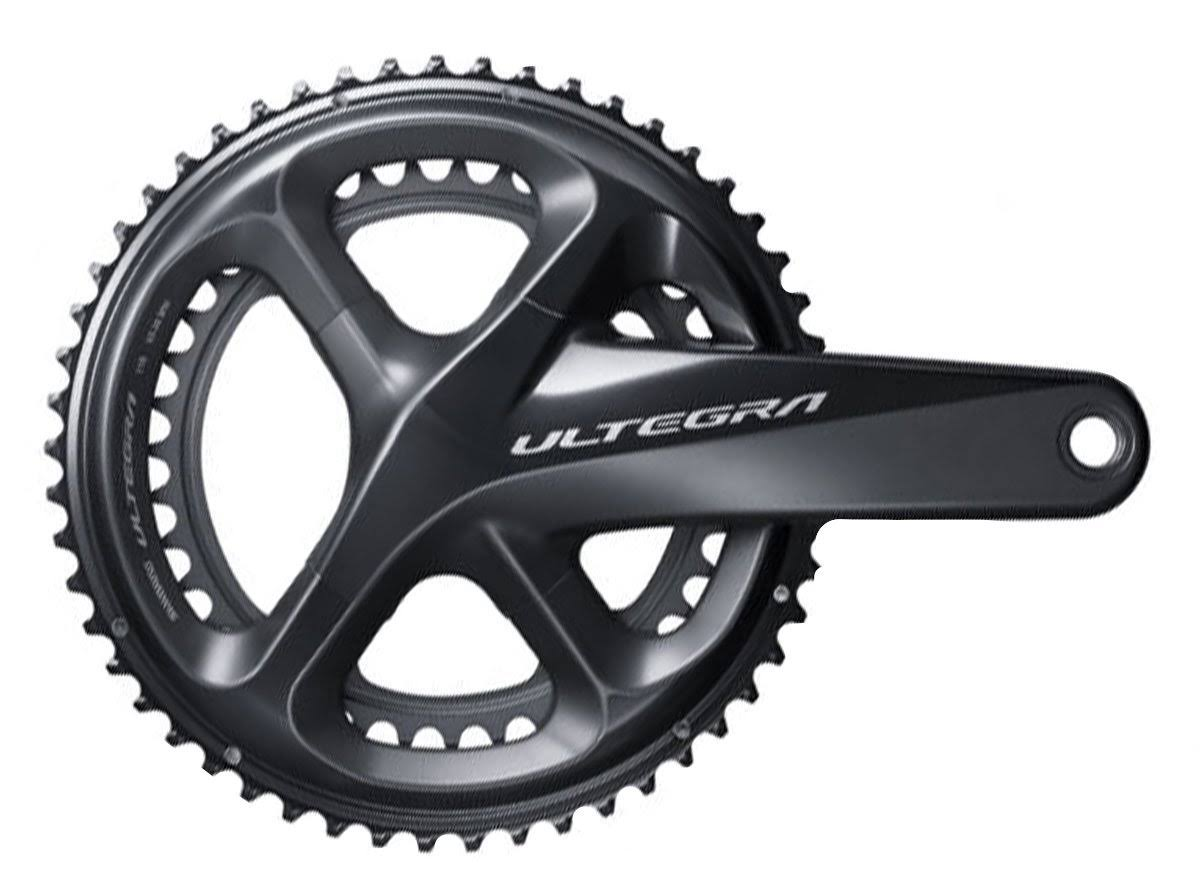 Shimano Ultegra R8000 Crankset - 11 Speed, 165mm, 34/50T