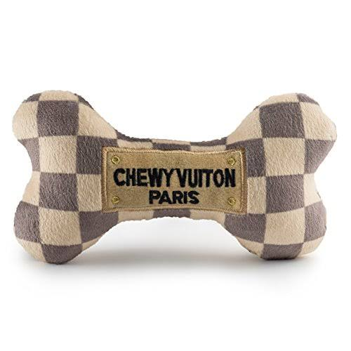 Haute Diggity Dog Chewy Checkered Bone Toy
